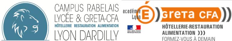 Lycée Francois Rabelais & GRETA CFA HRA Lyon Dardilly